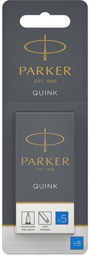 Parker Atrament QUINK, niebieski, 5 sztuk (1950208)