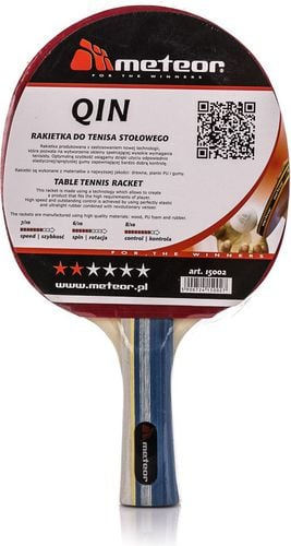 Meteor Rakietka do tenisa stołowego Qin Meteor  roz. uniw (15002)