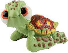 Bullyland Figurka - 'Gdzie jest Nemo' Żółwik (220509)
