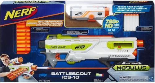 Hasbro Nerf Modulus  Wyrzutnia Battlescout ICS-10 (HASB0772)