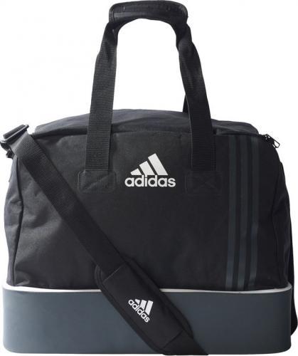 12b5b1bf4 Adidas Torba sportowa Tiro S B46124 czarno-szara (75344)