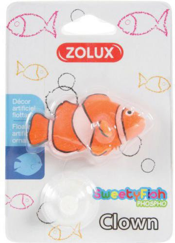 Zolux Dekoracja akwarystyczna SweetyFish Phospho Rybka Błazenek