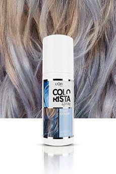 Loreal Colorista Spray koloryzujący spray do włosów Pastel Blue Hair 75ml