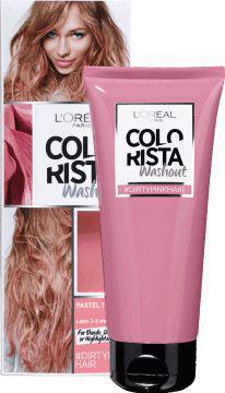L´Oreal Paris Colorista Washout zmywalna farba do włosów Dirtypink Hair  80ml