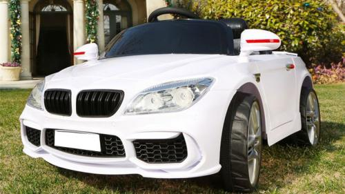 LEANToys Auto na akumulator BS4 Białe