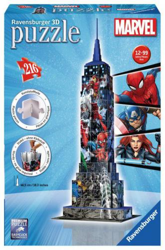 Ravensburger Ravensburger Marvel Empire State Building 3D