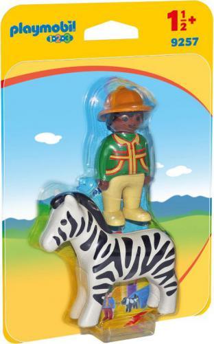 Playmobil Ranger with Zebra (9257)