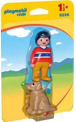 Playmobil man with dog (9256)