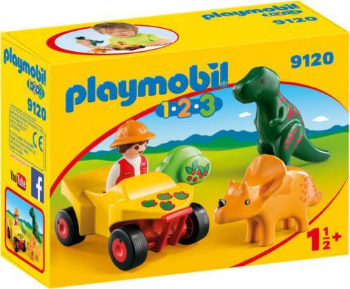 Playmobil Dinoforscher with Quad (9120)