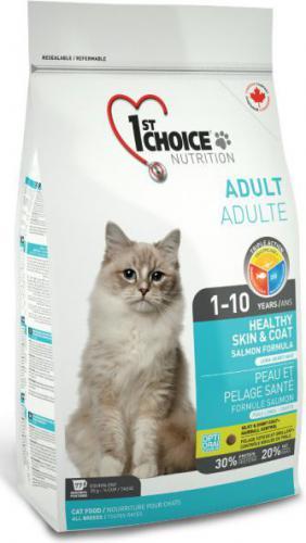 1ST CHOICE Cat Skin&coat Łosoś 5.44kg
