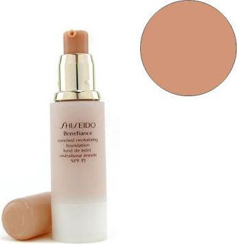 SHISEIDO Benefiance Enriched Revitalizing Foundation B60 Natural Deep Beige 30ml