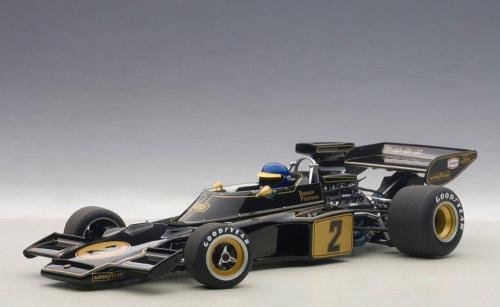 Autoart Lotus 72E #2 Peterson 1973 (with driver figurine fitted) (composite model/no openings) (585627)