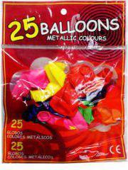 Swede Balony metalic 25 szt