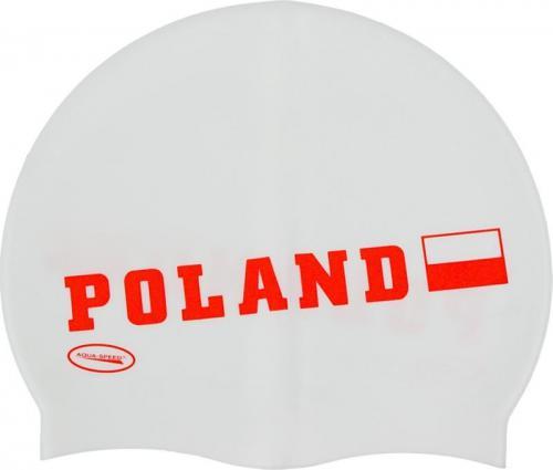 Aqua-Speed Poland Czepek biały (48115)