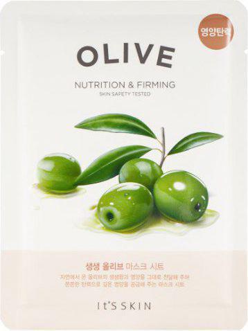 ITS SKIN Intensywnie nawilżająco-odżywcza maseczka do twarzy w płachcie The Fresh Mask Sheet Olive 22g