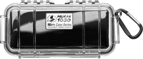 Walizka foto Peli Micro Case 1030, czarny przezroczysty (10000407)