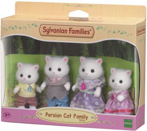 Figurka Epoch Sylvanian Families Rodzina kotków perskich (5216)