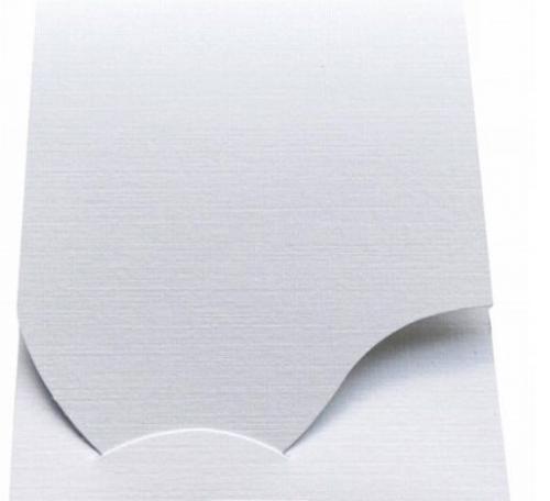 Pokrowiec Daiber Etui na zdjęcia paszportowe, 100 sztuk, biały (16019)