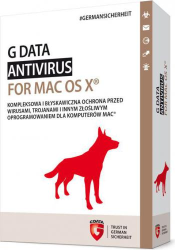 Gdata GDATA ESD ANTIVIRUS FOR MAC 1 User 1 Year Desktop License - C1004ESD12001