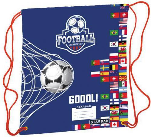 Starpak Worek Szkolny Football granatowy (372839)