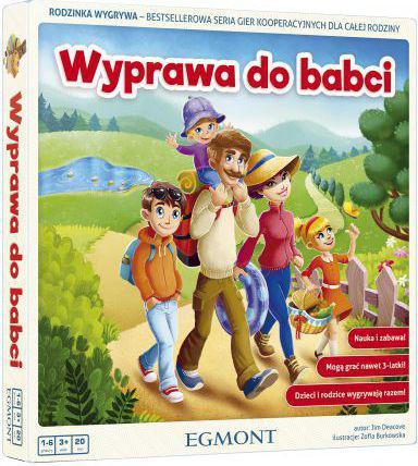 Egmont Gra - Wyprawa do Babci (237219)