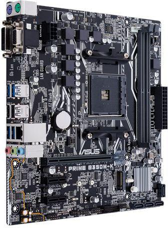 Płyta główna Asus PRIME B350M-K, B350, DDR4, SATA3, USB3.01, uATX (90MB0UH0-M0EAY0)