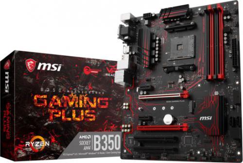 Płyta główna MSI B350 GAMING PLUS, B350, SATA3, DDR4, USB3.1 gen.1, ATX (7A34-015R)