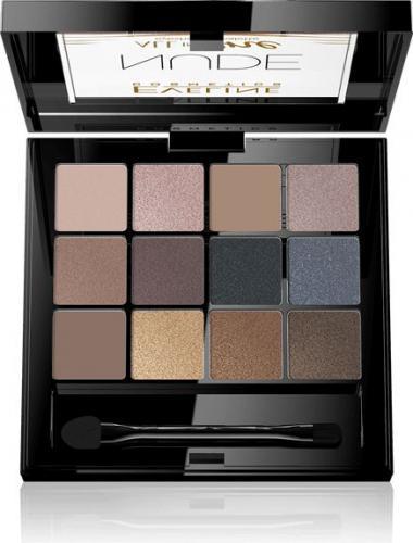 Eveline All in One Eyeshadow Palette Cienie do powiek Nude - paletka 12g