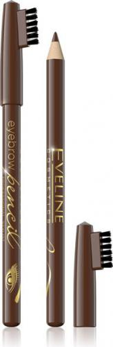 Eveline Eyebrow Pencil Kredka do brwi - brąz 1szt