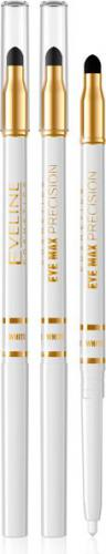 Eveline Eye Max Precision Kredka automatyczna z gąbką White 1szt