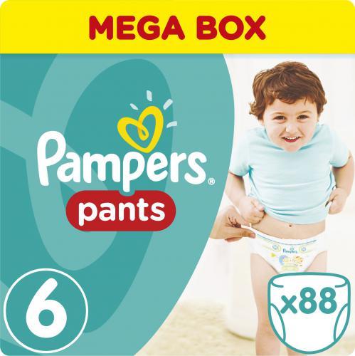 Pampers Pants Pieluchomajtki 6 Extra Large 88 sztuki