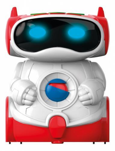 Clementoni Mówiący robot edukacyjny biało-czerwony (60972)