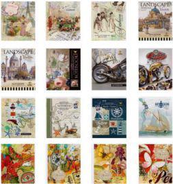 Fresh Notes A6/60 kartek w kratkę w oprawie broszurowej