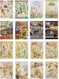 Fresh Notes A5/60 kartek w kratkę w okładce broszurowej