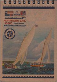 Fresh Kołonotes A6/80 kartek Kraft KF 6180K