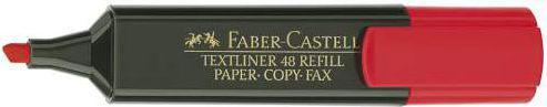 Faber-Castell Zakreślacz czerwony