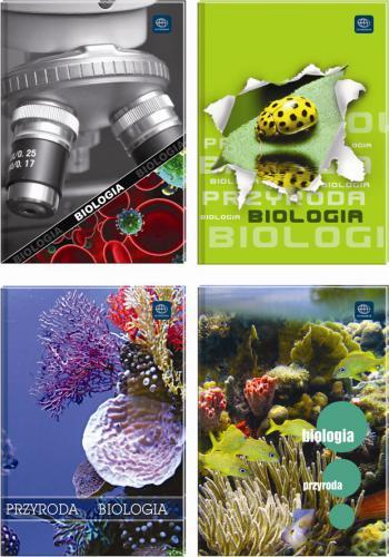 Interdruk Zeszyt A5 60 kartek tematyczny Biologia