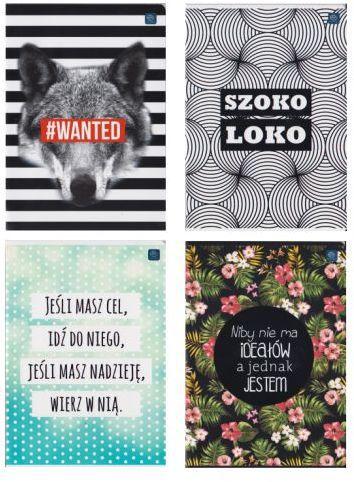 Interdruk Zeszyt A5/60 kartek w linie Mat+UV FSC Mix Credit - WIKR-1005095