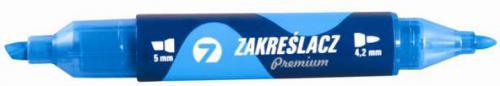 Tetis Zakreślacz KW510-N2 Premium niebieski