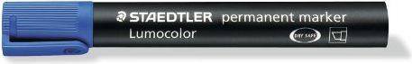 Staedtler Marker Lumocolor permanentny ścięty niebieski - WIKR-961358