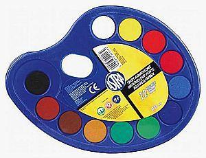 Astra Farby akwarelowe 12 kolorów paleta