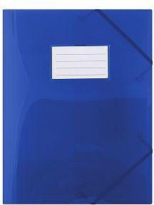 Donau Teczka z gumką A4 z kieszonką niebieska - WIKR-975504