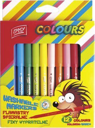 Easy Flamastry Premium 12 kolorów - WIKR-053188