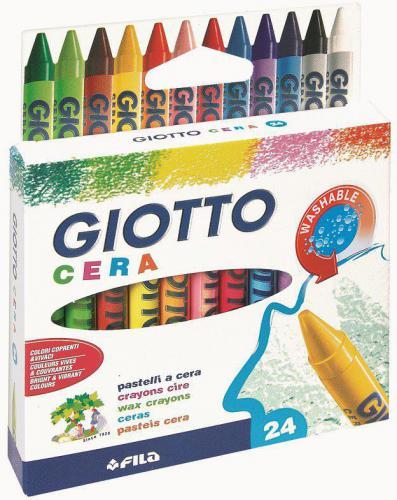 GIOTTO Kredki woskowe Cera 24 kolory (WIKR-075270)