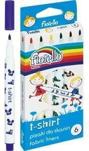 Grand Pisaki do tkanin 6 kolorów Fiorello GR-F125-6 - (WIKR-967308)