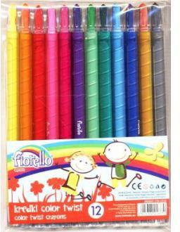 Grand Kredki Fiorello Color Twist 12 kolorów (WIKR-924529)