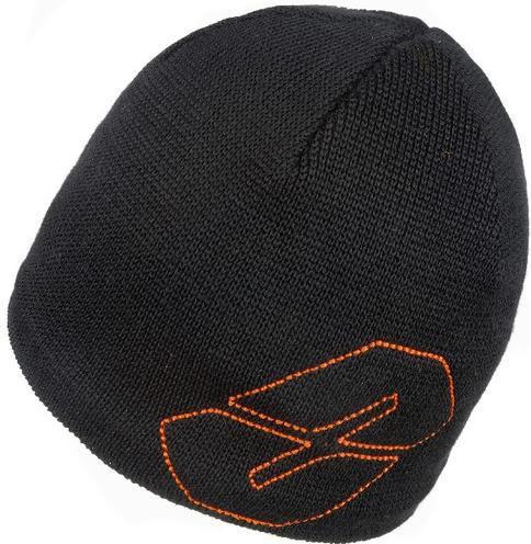 NEVERLAND Czapka HELIX czarno-pomarańczowa (P-04-HELIX-736-UNI)