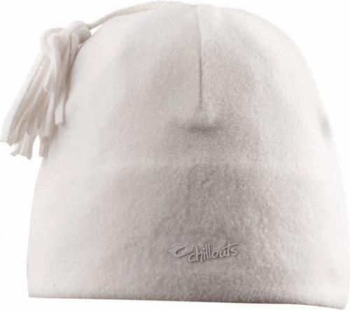 CHILLOUTS Czapka damska Freeze Fleece Pom Hat FPH01 biała (CHI-3706)