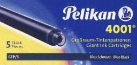 Pelikan Naboje długie GTP/5 niebiesko-czarne (WIKR-061837)