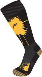 Fuse Skarpety zimowe SNOWBOARD P 100 męskie 47-49 czarno-żółte (FSE-27-4717-8-4-0208)